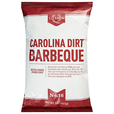 Lillies Q Kettle Chips Carolina Dirt - 5 Oz