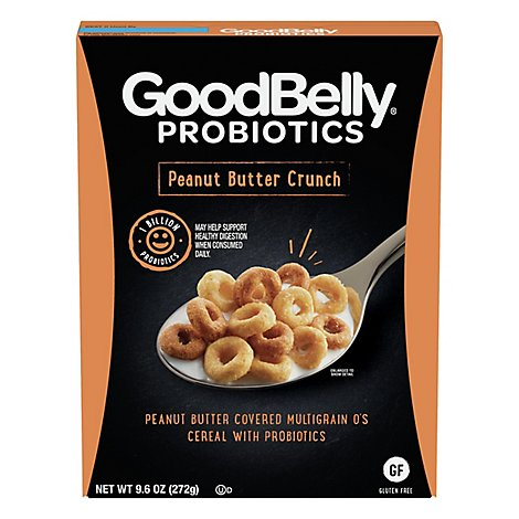Goodbelly Cereal Peanut Butter Crunch - 9.6 OZ