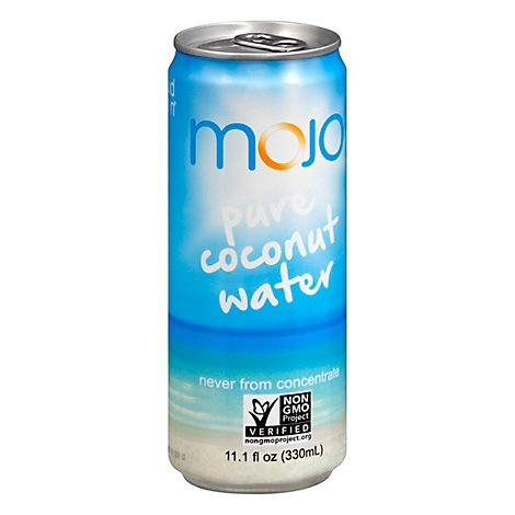 Mojo Naturals Water Coconut All Nat - 11.1 FZ
