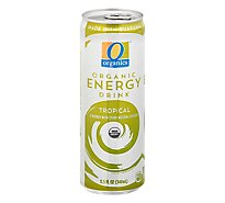 O Organics Energy Drink Tropical - 11.5 FZ