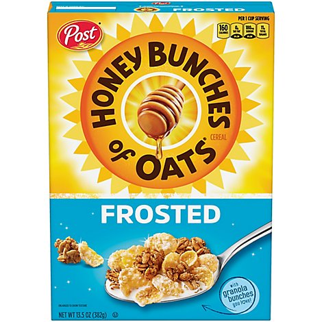 Post Honey Bunches Of Oats - 13.5 OZ