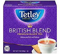 Tetley British Blend Tea - 80 CT