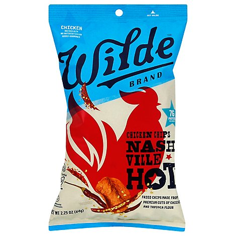 Wilde Chicken Chips Nashville Hot - 2.25 OZ