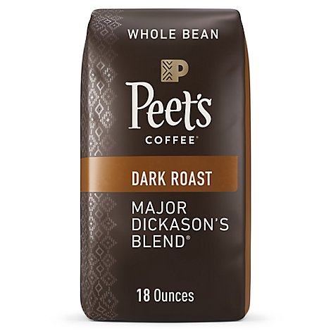 Peets Major Dickasons Whole Bean Coffee - 18 OZ