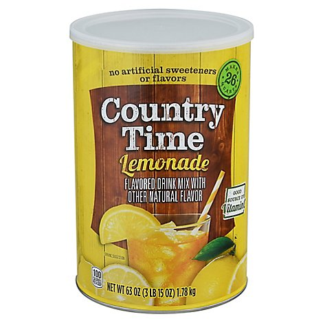 Country Time Lemonade Drink Mix - 63 OZ
