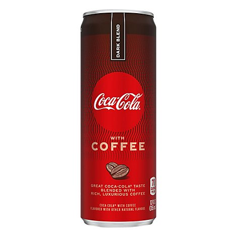 Coca-cola With Coffee Dark Blend - 12 FZ