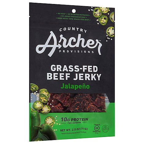Country Archer Sweet Jalapeno Beef Jerky - 2.5 OZ