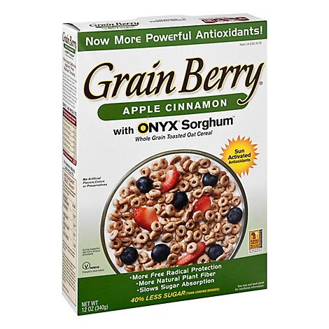 Grain Berry Apple Cinnamon Toasted Oats Cereal - 12 OZ