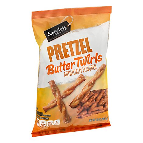 Signature Select Pretzel Butter Twirls - 10 OZ