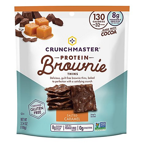 Crunchmaster Brownie Prtn Thin Sltd Cr - 3.54 OZ