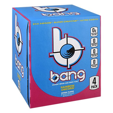Bang Energy Drink Rainbow Unicorn - 4-16 FZ