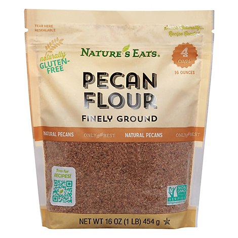 Natures Eats Flour Pecan - 16 OZ