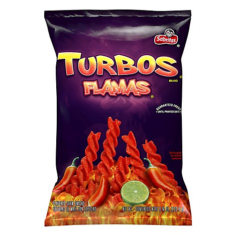 Sabritas Turbo Flamas Corn Chips - 8.25 OZ