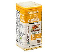 Suzies Corn Cake Puffed Salt - 4.5 OZ
