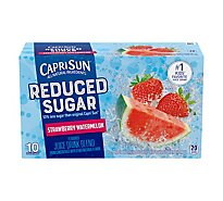 Capri Sun Reduced Sugar Strawberry Watermelon Juice - 10-6 FZ