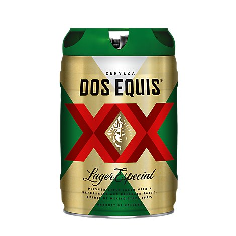 Dos Equis Special Lager Keg In Cans - 5 LT