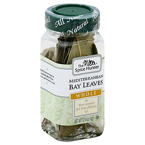 Spice Hunter Bay Leaves Mediterranean - .14 OZ