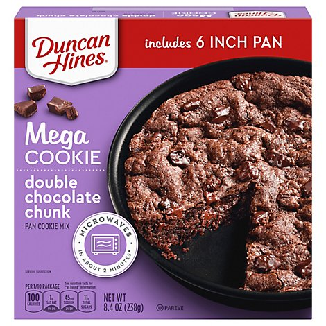 Duncan Hines Double Chocolate Chunk - 8.4 OZ