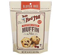 Bobs Red Mill Mix Muffin - 16 OZ