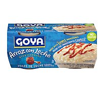 Goya Rice Pudding Dulce De Leche Flavored 4 Count - 16 Oz