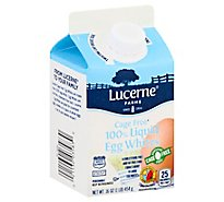Lucerne 100% Liquid Egg Whites Cage Free - 16 OZ