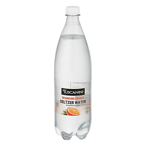 Tuscanini Orange Sparkling Water - 33.8OZ