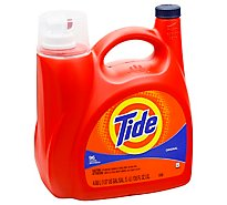 Tide Laundry Detergent Liquid Original 96 Loads - 138 Fl. Oz.
