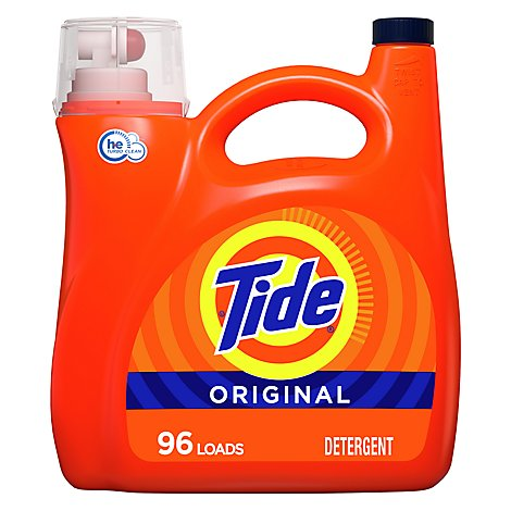 Tide He 2x Original Liquid Laundry Detergent - 138 FZ