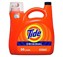 Tide Liquid Laundry Detergent HE Compatible Original 96 Loads - 138 Fl. Oz.