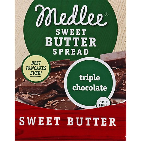 Medlee Butter Trpl Choc Swt Whpd - 2.5 OZ