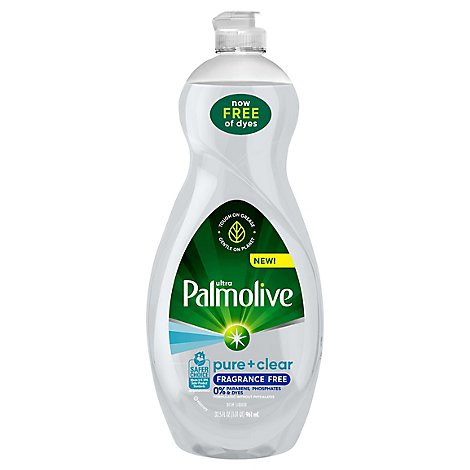 Palmolive Pure Ultra Dish Soap Fragrance Free - 32.5 FZ