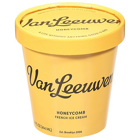 Vanleeuwen Ice Cream Honeycomb - 14 OZ