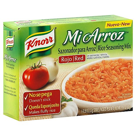 Knorr Savoury Sauce Miarroz Seasoning Mix Wht Rice - 68 GR