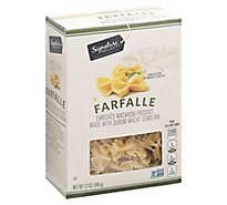 Signature Select Pasta Farfalle - 12 OZ