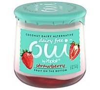 Oui By Yoplait Dairy Free Strawberry Yogurt - 5 OZ