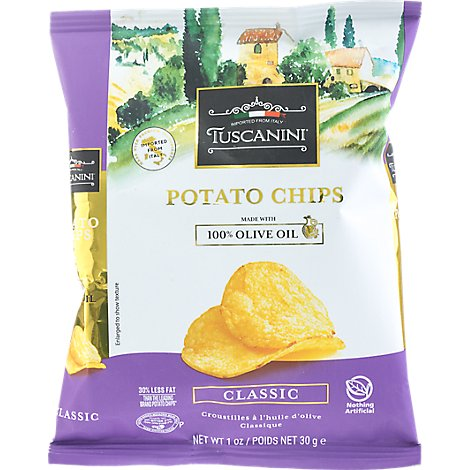 Tuscanini Classic Potato Chips Snack Bag - 1OZ