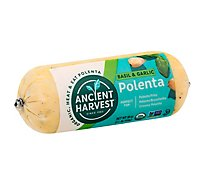 Food Merch Polenta Basil & G - 18 OZ