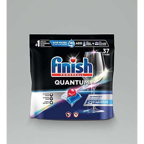 Finish Quantum Powerball - 37 CT