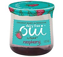 Yoplait Oui Dairy Free Raspberry Yogurt - 5 OZ