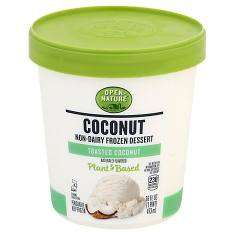 Open Nature Coconut Dessert Toasted Coconut - 1 PT