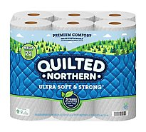 Quilted Northern Ultra Soft And Strong Tissue Paper 18 Mega Roll - 18 RL