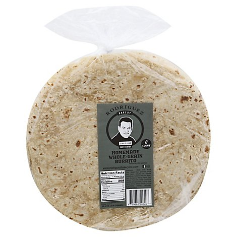 Rodriguez Whole Grain Burrito Tortilla - 8 CT