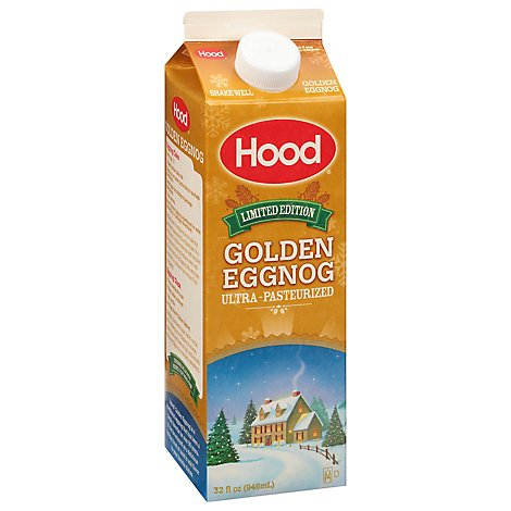 Hood Regular Egg Nog - 32 FZ