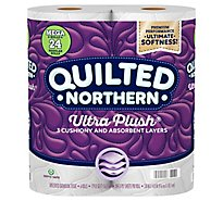 Quilted Northern Ultra Plush Toilet Paper 6 Mega Rolls - 6 RL