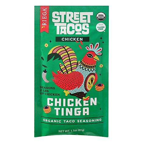 Riega Seasoning Taco Chicken Tinga - 1.1 OZ