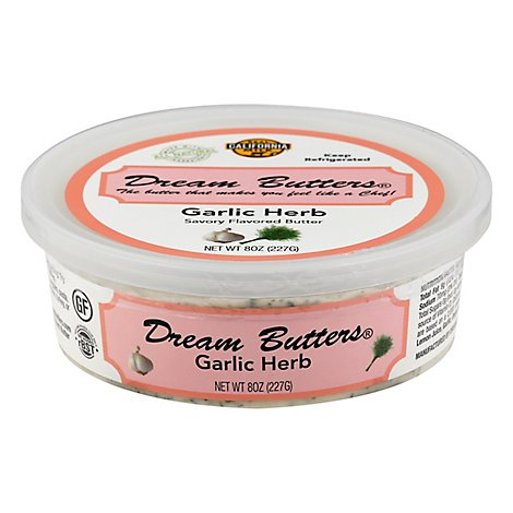 Dream Butters Garlic-herb Flavored Butter - 8 OZ
