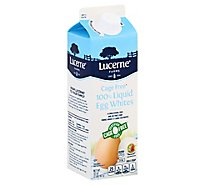 Lucerne 100% Liquid Egg Whites Cage Free - 32 OZ