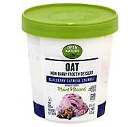 Open Nature Oat Dessert Blueberry Oatmeal Crumble - PT