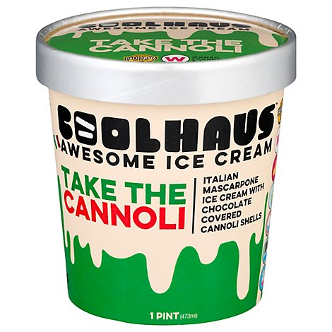 Coolhaus Ice Crm Take The Cannoli - 16 OZ