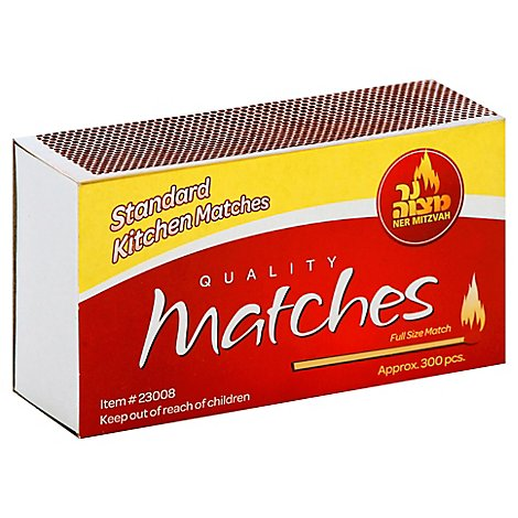 Nm Standard Kitchen Matches - 300CT